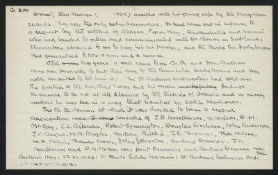Macdonald Dictionary Record: George Grant