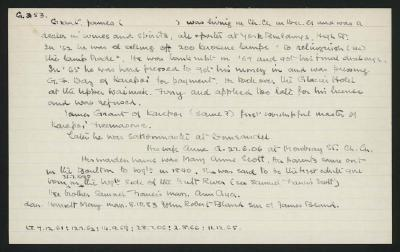 Macdonald Dictionary Record: James Grant