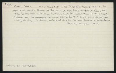 Macdonald Dictionary Record: Peter Grant