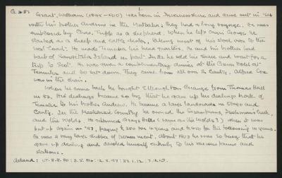 Macdonald Dictionary Record: William Grant