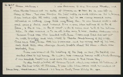 Macdonald Dictionary Record: William Green