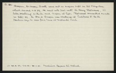 Macdonald Dictionary Record: George Booth Gregson