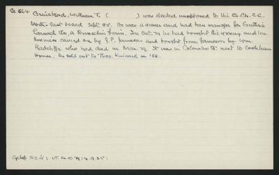 Macdonald Dictionary Record: William T Grinstead