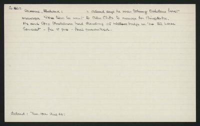 Macdonald Dictionary Record: Richard Groome