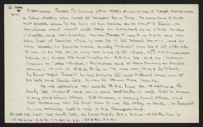 Macdonald Dictionary Record: Joseph Penfound Grossman