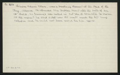 Macdonald Dictionary Record: Edwin Edson Gruber