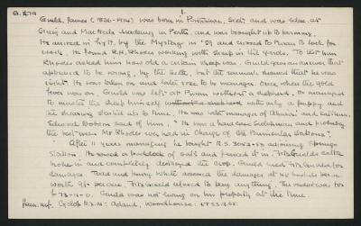 Macdonald Dictionary Record: James Guild