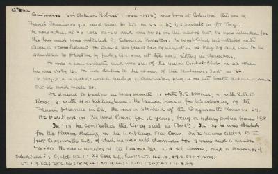 Macdonald Dictionary Record: Arthur Robert Guinness