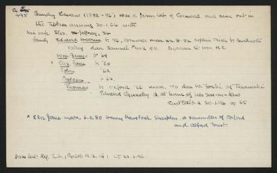 Macdonald Dictionary Record: Edward Gundry