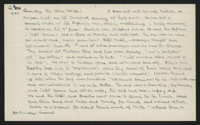 Macdonald Dictionary Record: John Seager Gundry