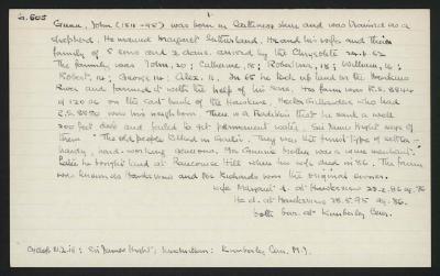 Macdonald Dictionary Record: John Gunn