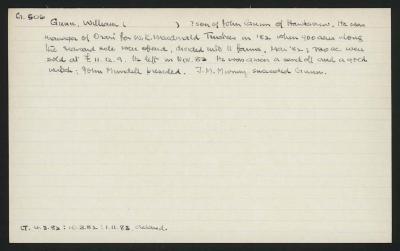 Macdonald Dictionary Record: William Gunn
