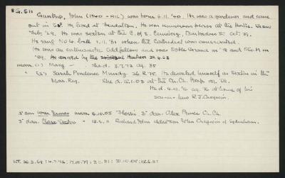 Macdonald Dictionary Record: John Guntrip