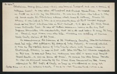 Macdonald Dictionary Record: Henry John Gladstone