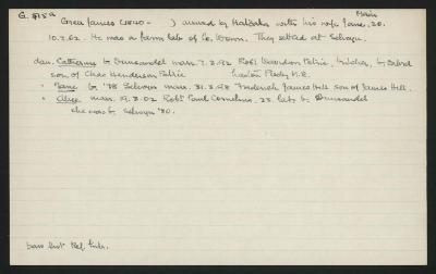 Macdonald Dictionary Record: James Greer