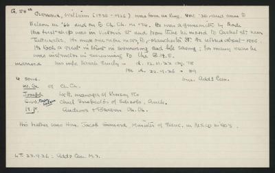 Macdonald Dictionary Record: William Garrard