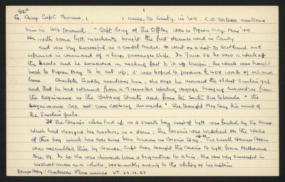 Macdonald Dictionary Record: Thomas Gay