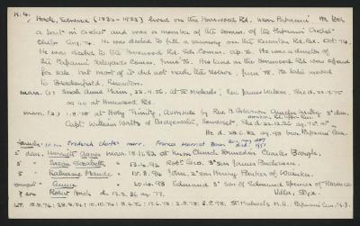Macdonald Dictionary Record: Edward Hack