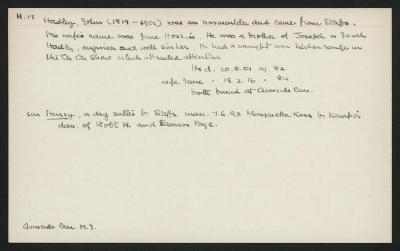Macdonald Dictionary Record: John Hadley