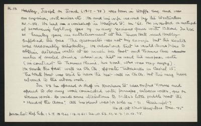 Macdonald Dictionary Record: Joseph Hadley