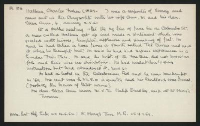 Macdonald Dictionary Record: Charles Fisher Hallan