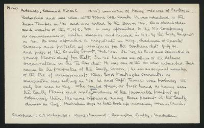 Macdonald Dictionary Record: Edmund Storr Halswell