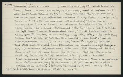 Macdonald Dictionary Record: Henry William Hammond
