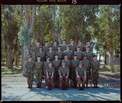Negative: Burnham Military Camp Group 1988