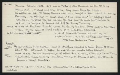 Macdonald Dictionary Record: Thomas Hanna