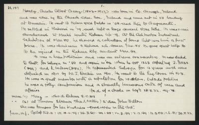 Macdonald Dictionary Record: Charles Albert Creery Hardy