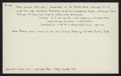 Macdonald Dictionary Record: James Hare