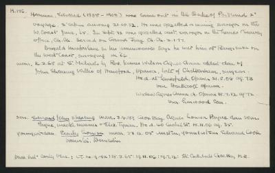 Macdonald Dictionary Record: Edward Harman