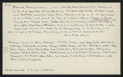 Macdonald Dictionary Record: Richard Dacre Harman