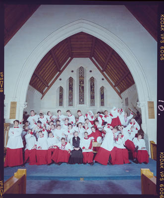 Negative: Christ's College Choir 1989
