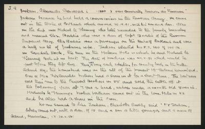 Macdonald Dictionary Record: Alexander Sherwood Jackson