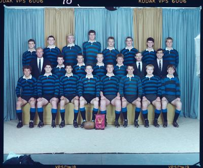 Negative: CBHS 2nd XV Rugby 1989