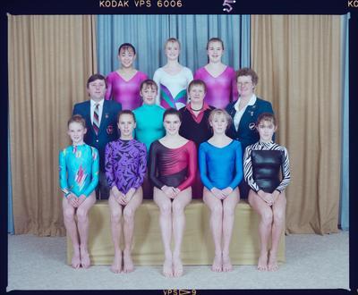 Negative: Canterbury Rhythmic Gymnastics 1989