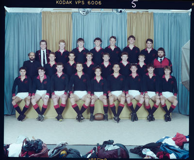 Negative: St Bede's 1st XV Rugby 1989