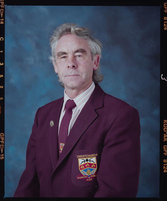 Negative: Mr Neil Lewer Christchurch Workingmen's Club