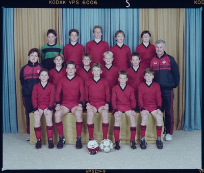 Negative: Canterbury Under 13 Soccer 1989