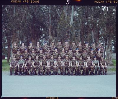 Negative: Burnham Junior NCO Group 1989