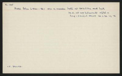 Macdonald Dictionary Record: John Kidd