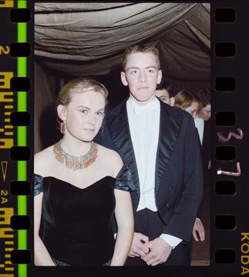 Negative: Christ's College Ball 1989