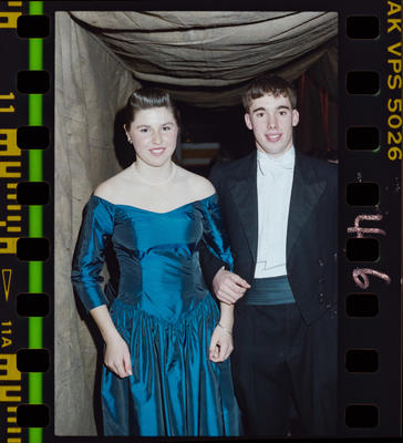 Negative: Christ's College Ball 1989
