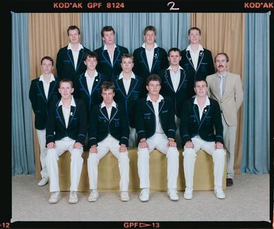 Negative: CBHS Cricket 1989