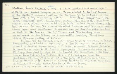 Macdonald Dictionary Record: Louis Edward Nathan
