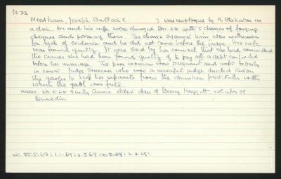 Macdonald Dictionary Record: Joseph Bullock Needham