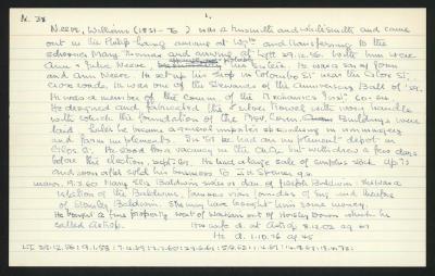 Macdonald Dictionary Record: William Neeve