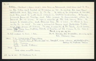 Macdonald Dictionary Record: Andrew Nelson