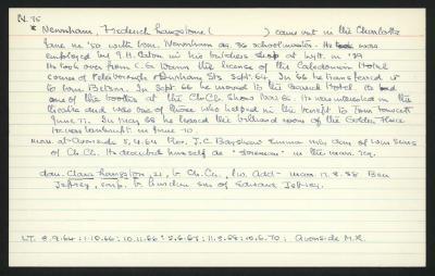 Macdonald Dictionary Record: Frederick Langstone Newnham